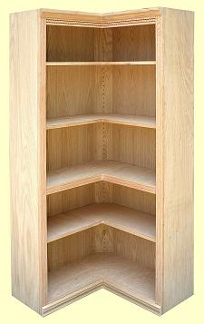 Quality Wood Furniture Unfinished Bookcases Leesville