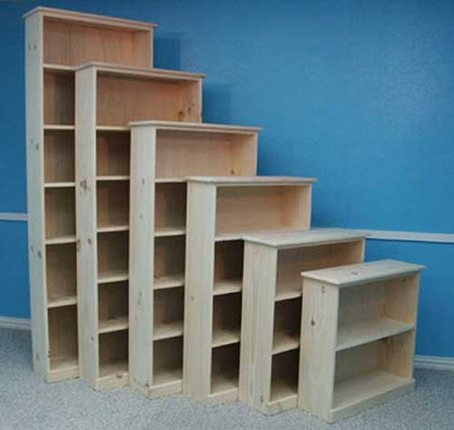 30 84 Height 47 Promotional Pine 10 Deep Bookcase 18 42 Width