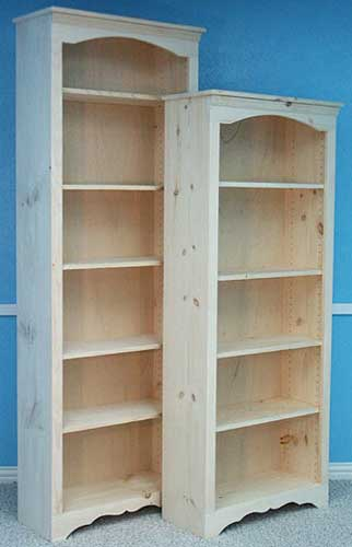 76 Arch Bookcases 24