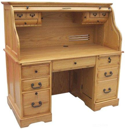 office computer furniture easy computer roll top desk 54wx53hx285d quality wood furniture unfinished furniture of leesville louisiana
