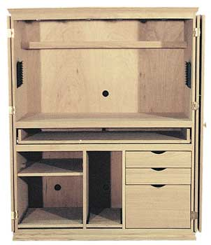 contemporary computer armoire desk computer armoire. Computer Armoire Contemporary Desk B